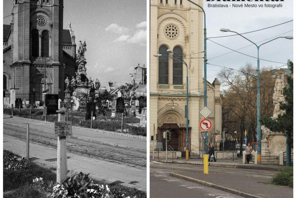Nové Mesto na fotografiách v minulosti a dnes