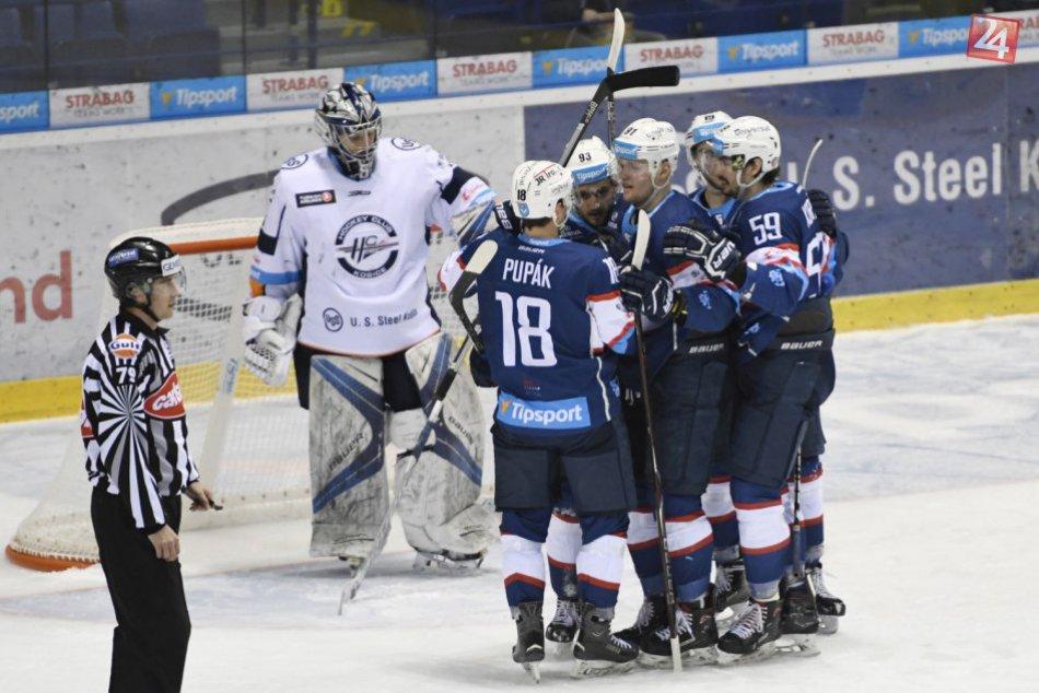 Nitra zbíjala na východe: V derby poľahky porazila Košice