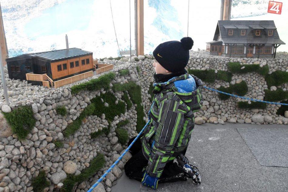 Tatranské chaty si môžete pozrieť v miniatúrnej podobe