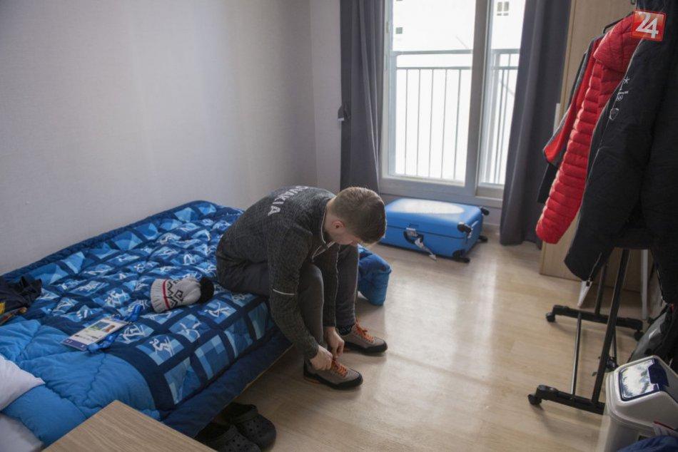 FOTO z olympijskej dediny: Takto budú bývať Slováci