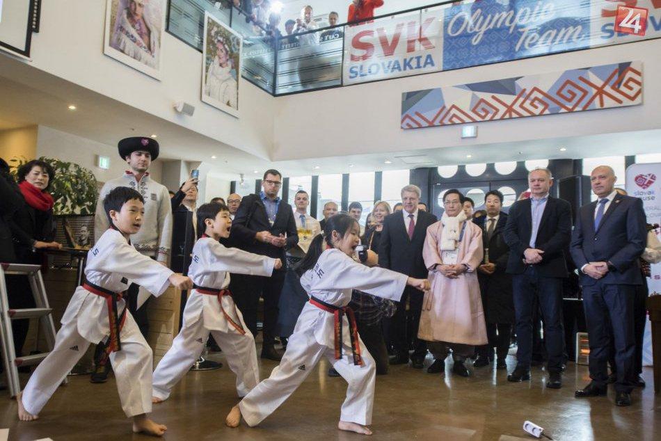 Slovenský dom v Pjongčangu je otvorený