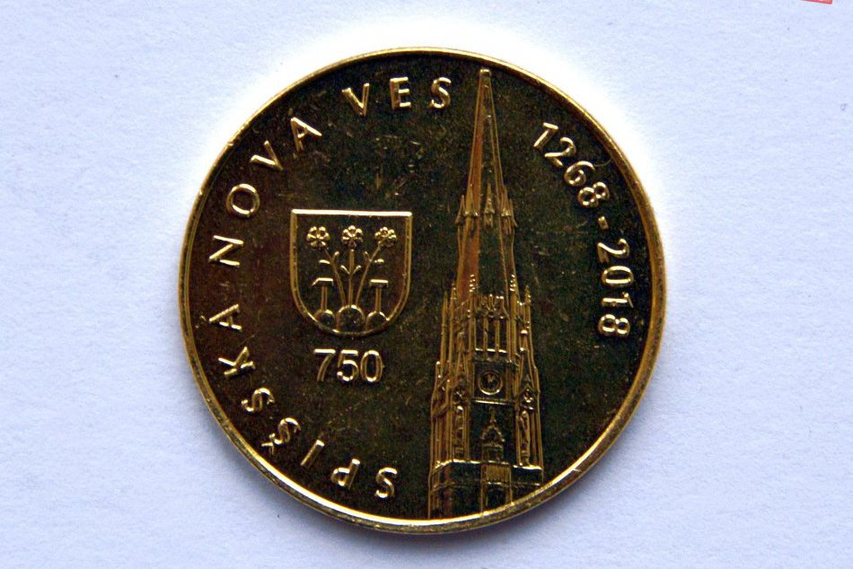 Pozrite si ich na FOTKÁCH: Spišská má nové pamätné mince aj medaily