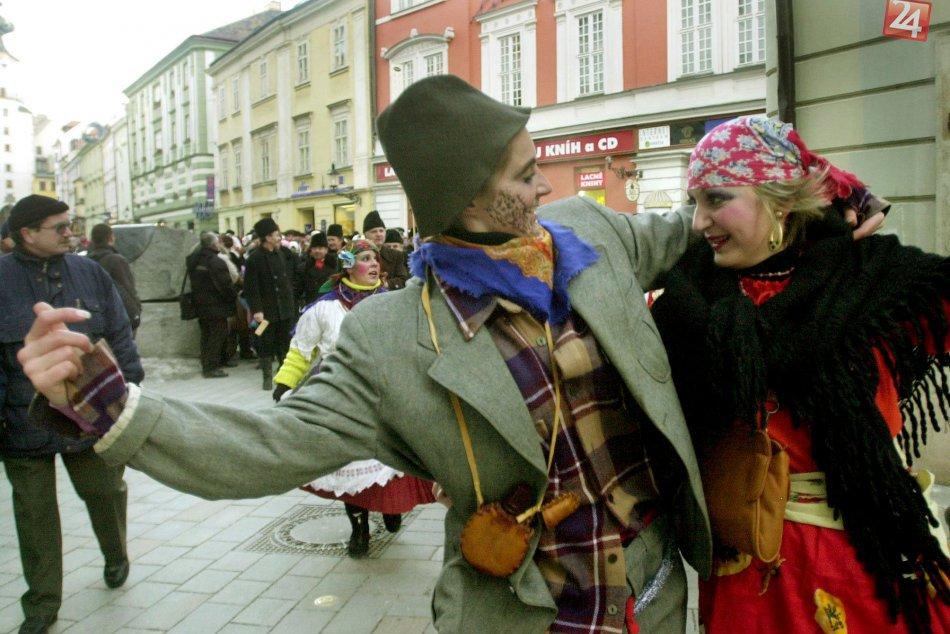 Fašiangové oslavy v Bratislave