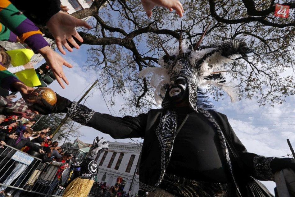 V New Orleanse ľudí zabavil veľkolepý karneval