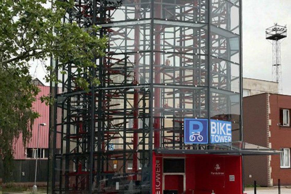 Parkovací dom pre bicykle