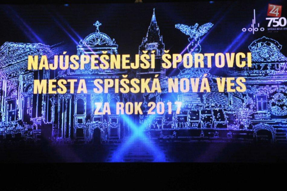 OBRAZOM: V Spišskej Novej Vsi  oceňovali najúspešnejších športovcov