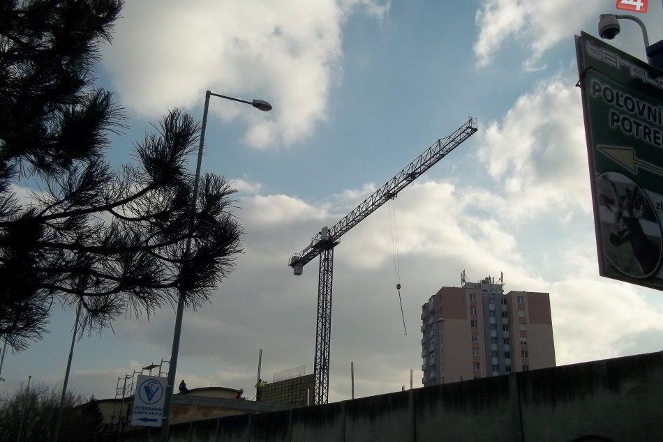 Práce na šalianskej Panoráme postupujú: Vo Veči pribudnú byty aj obchody.FOTO