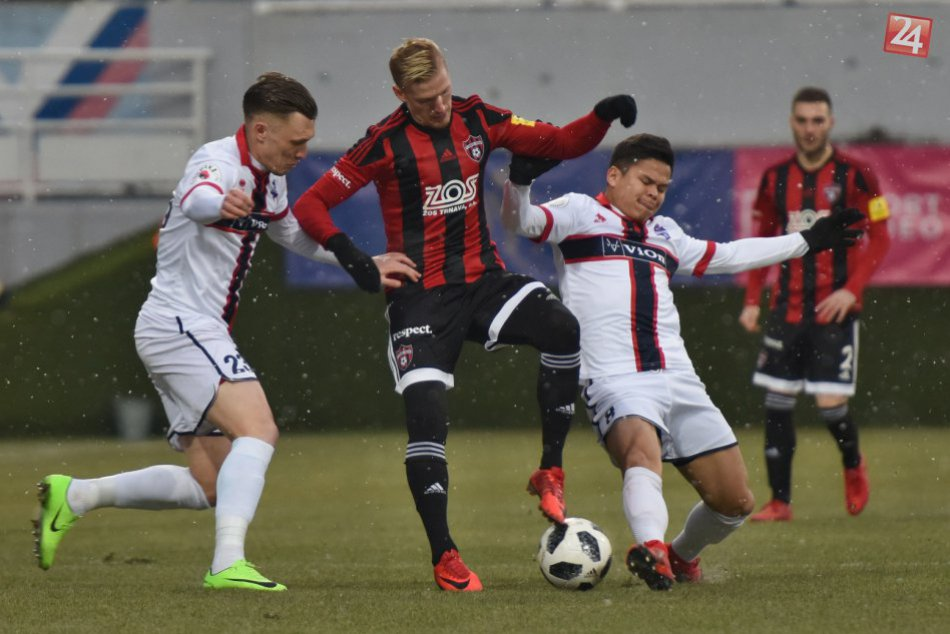 V OBRAZOCH: Spartak Trnava zdolala ViOn Zlaté Moravce-Vráble