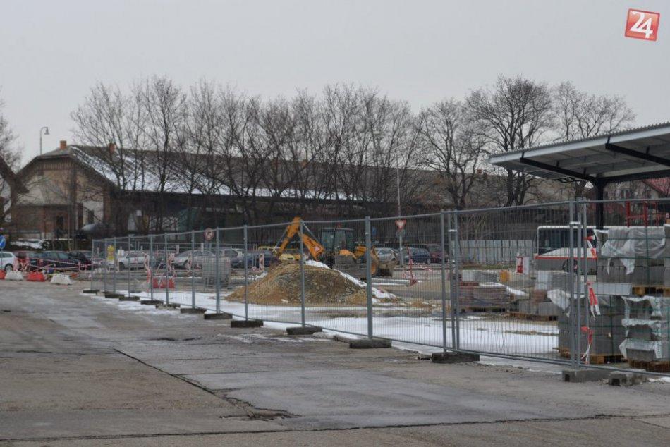 FOTO z rekonštrukcie autobusovej stanice v Nitre: Hotová má byť do konca roka