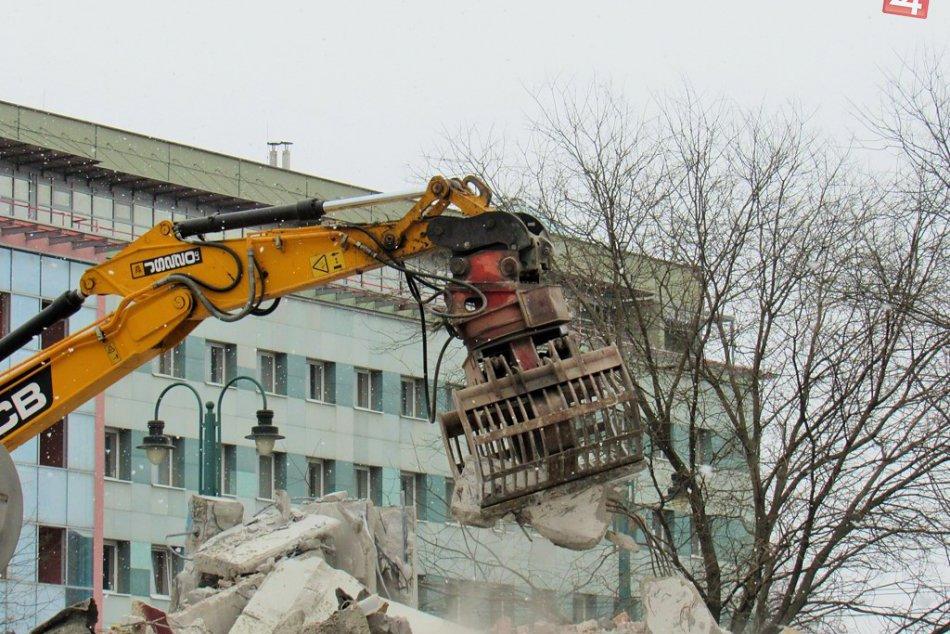 Aktuálne FOTKY priamo z miesta: V metropole Šariša už zbúrali staré Tesco
