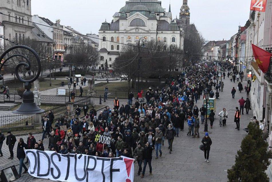 Postavme sa za slušné Slovensko Košice