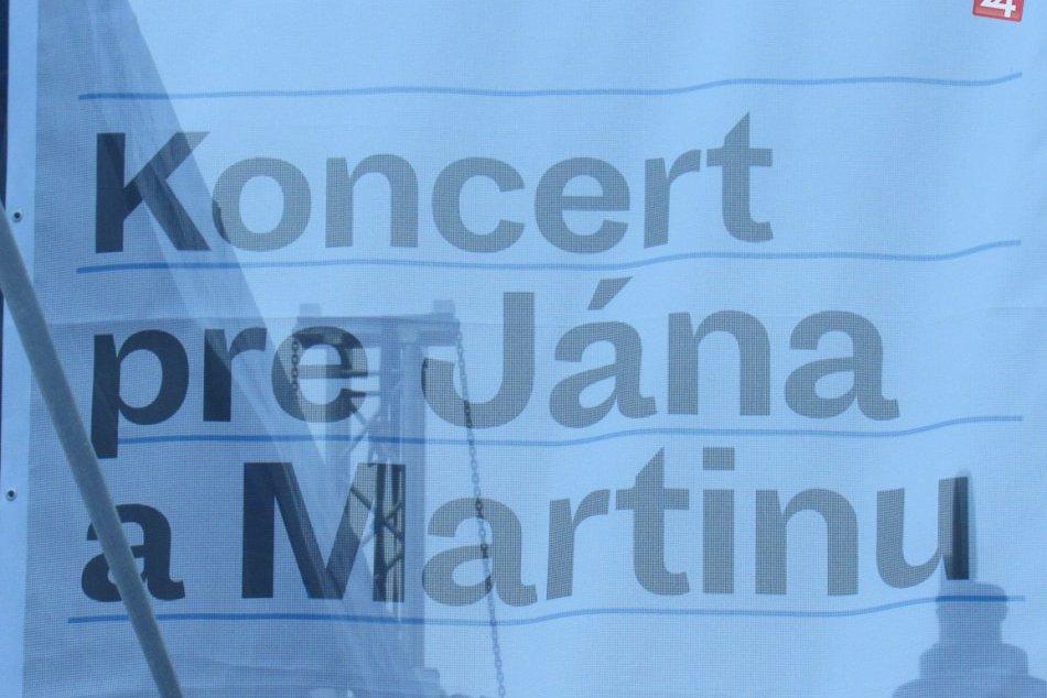 Prešovský koncert za Jána a Martinu: Ľudia a hudobníci im vzdali hold