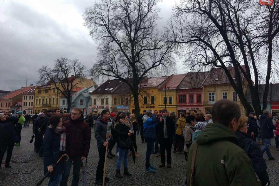 Veľká FOTOGALÉRIA: Prinášame vám momentky zo spišskonovoveského  protestu