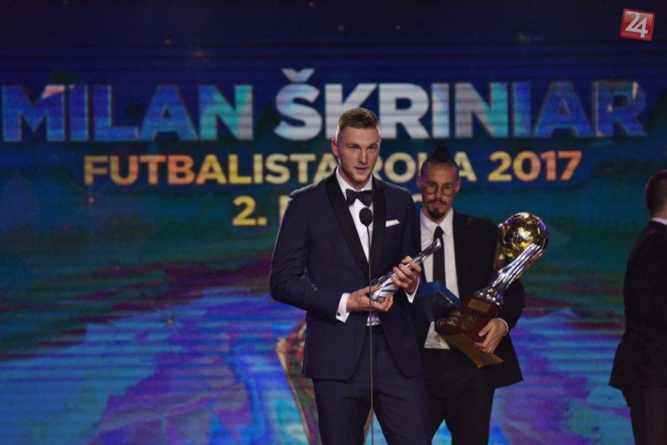 Anketa futbalista roka 2017