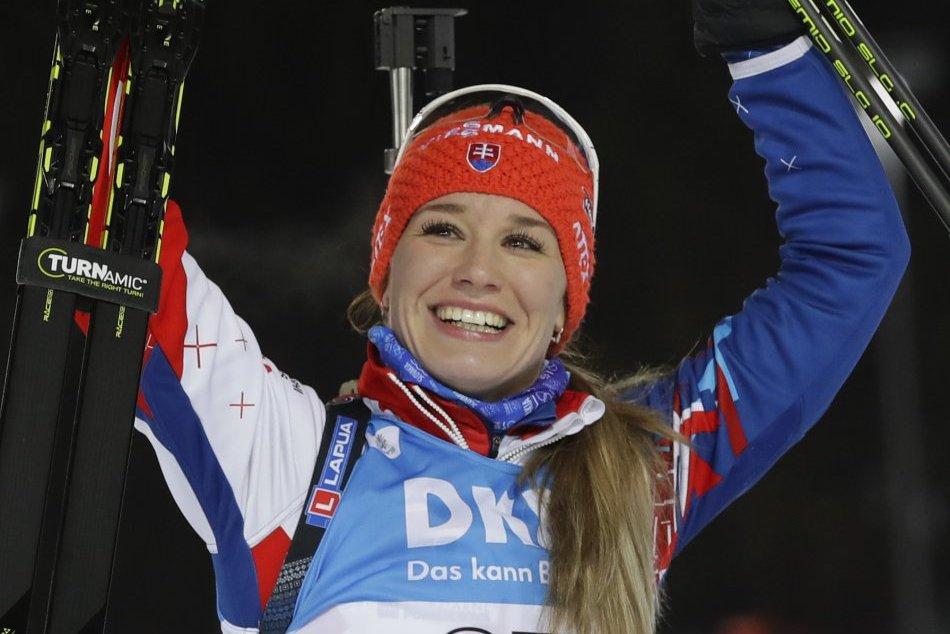 V OBRAZOCH: Úspech slovenského biatlonu podfarbila Paulína Fialková