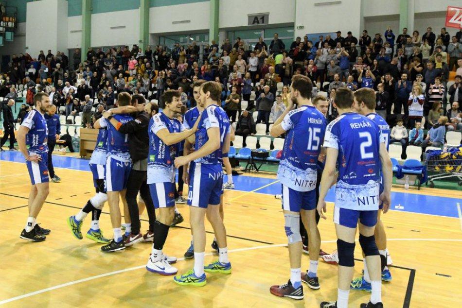 Nitra zažila vydarený volejbalový víkend: Muži sú vo finále, ženy vo vedení, FOT
