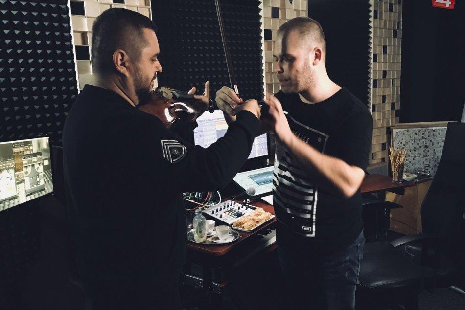 Košická kapela SilBand sa spojila s Kulym: FOTO z nahrávania