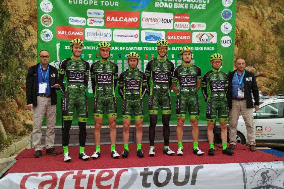 V OBRAZOCH: Duklisti odštartovali sezónu na pretekoch Tour of Cartier