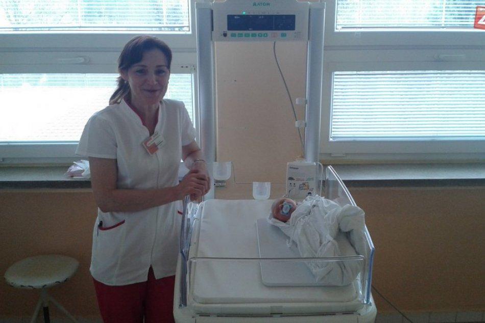 Novorodenecké oddelenie v Považskej s novým vybavením: Pribudli monitory dychu
