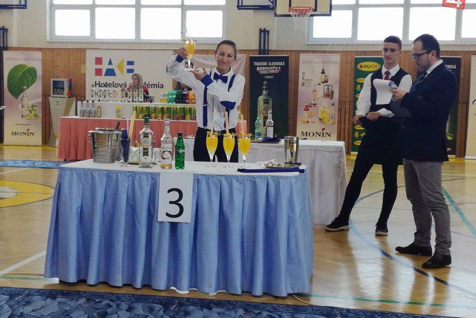 FOTO: Víťazka barmanskej súťaže s medzinárodnou účasťou pochádza zo Spišskej