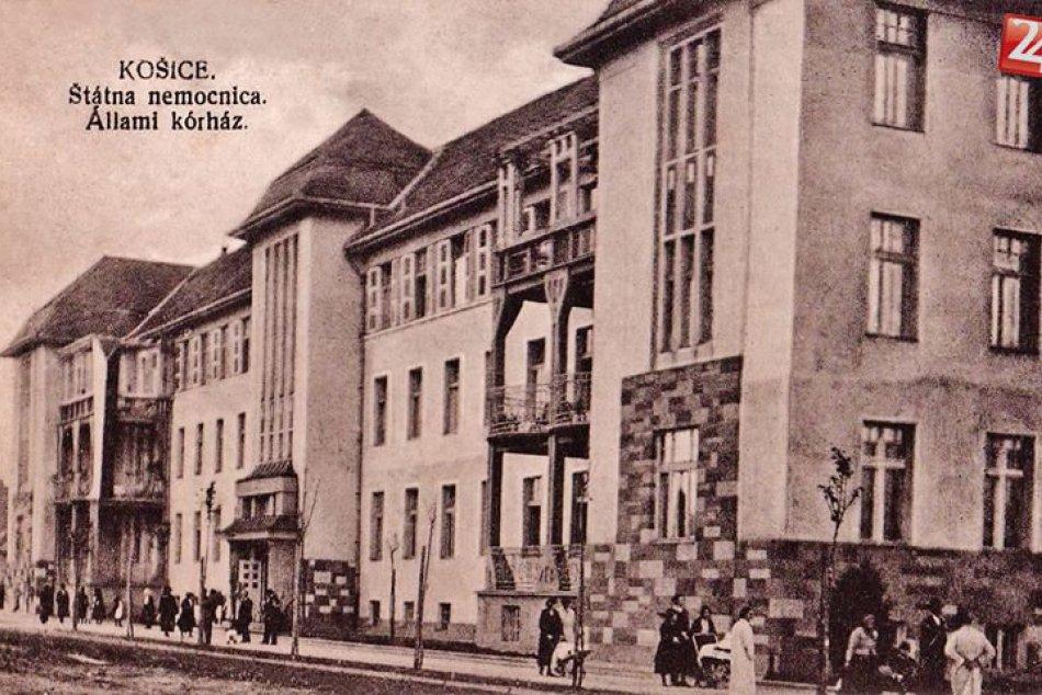 Vzácne zábery z archívu: Stará nemocnica z čias minulého storočia