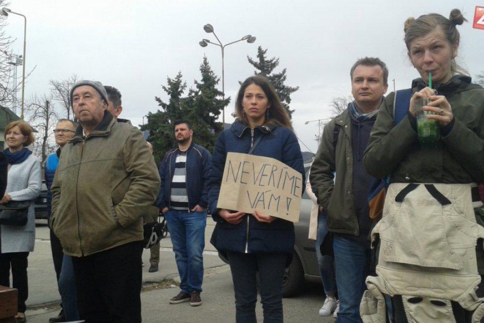 Štvrtá demonštrácia Za slušné Slovensko: Zábery z Považskej Bystrice
