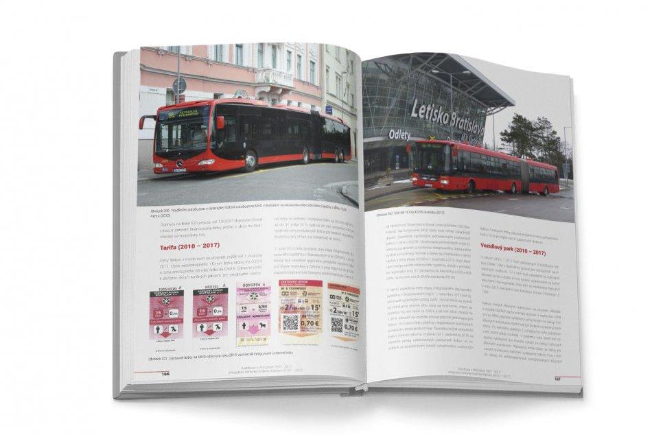 Kniha Autobusy v Bratislave 1927 - 2017
