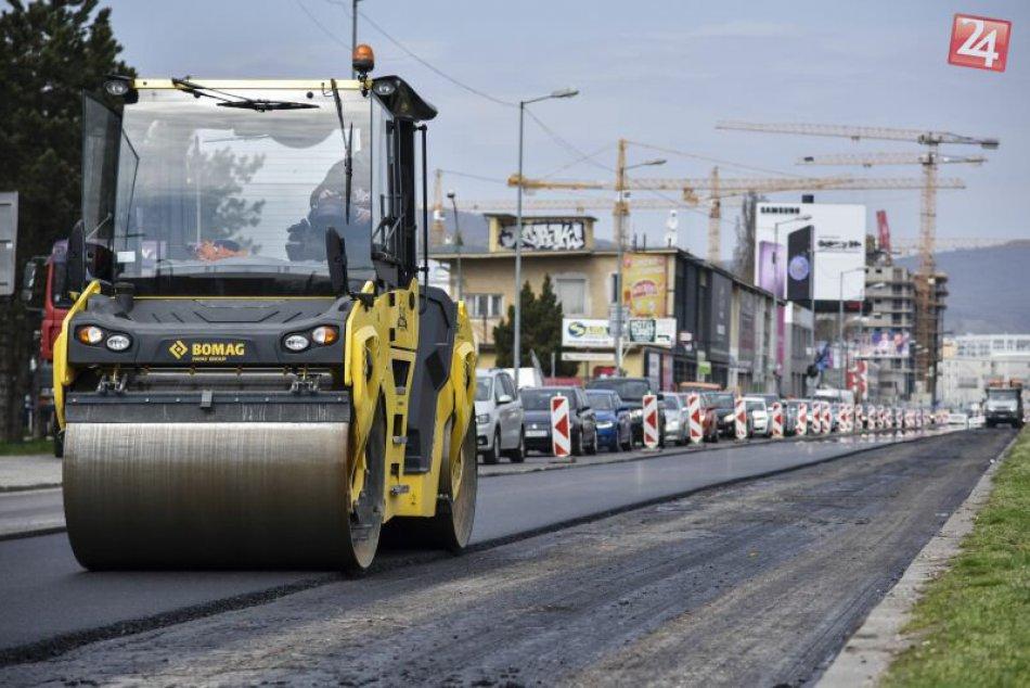 Hlavné mesto dokončuje opravy ciest
