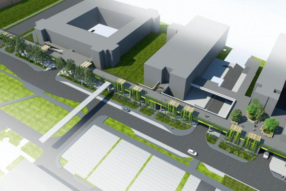 VIZUALIZÁCIA: Takáto zelená zóna má vzniknúť na známej betónovej lávke v Trnave