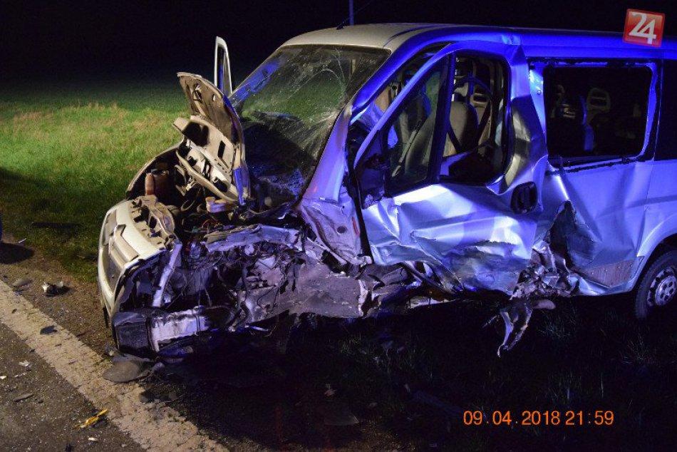 Dopravná nehoda na križovatke Čiky