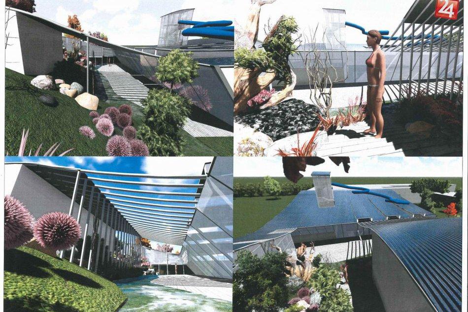 Obrazom: VIZUALIZÁCIA krytej plavárne v Rožňave