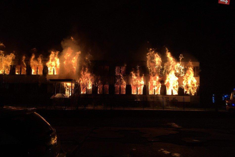 Požiar objektívmi Považskobystričanov: Čo zachytili?