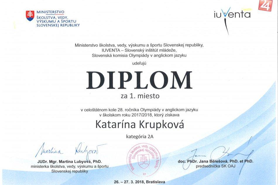 Vsadili aj na jazyky, majú najlepšiu študentku angličtiny na Slovensku