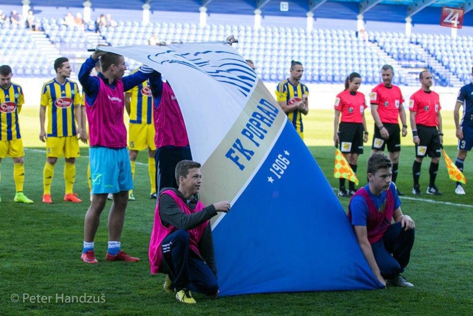 FK Poprad - Slavoj Trebišov 0:0