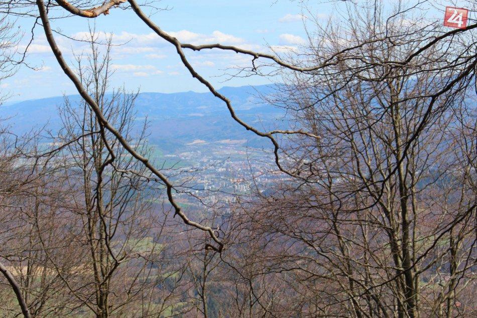 V OBRAZOCH: Výhľady na Banskú Bystricu zo Skalky