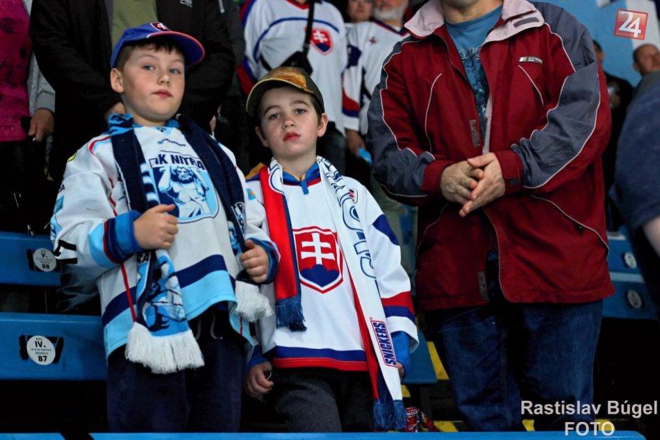 FOTO: Hokejová reprezentácia v Nitre zdolala Francúzsko