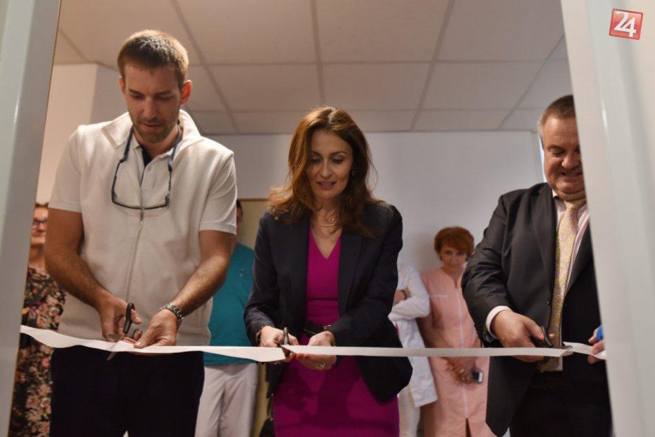 OBRAZOM: Otvorenie nového Mamologického pracoviska vo FN v Trnave