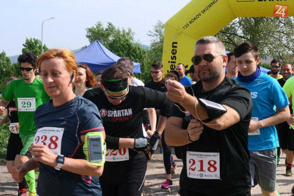 FOTO: Závodu o pohár Matice Slovenskej v Nitre sa zúčastnilo 131 bežcov