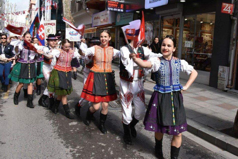 FOTO: Známy prešovský folklórny súbor sa zúčastnil na medzinárodnom festivale