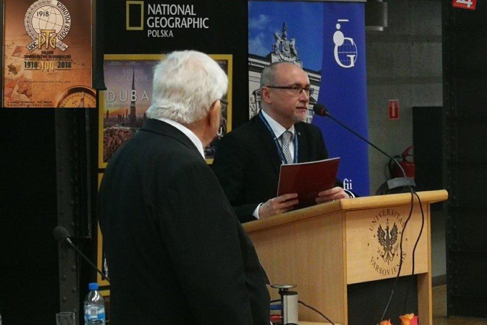FOTO: Dekan z Prešovskej univerzity získal v Poľsku naozaj pozoruhodné ocenenie!
