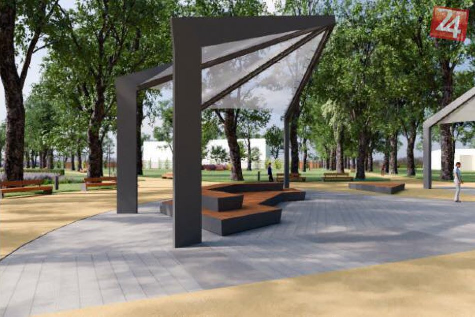 V OBRAZOCH: Predstavy o revitalizácii Mestského parku v Bystrici
