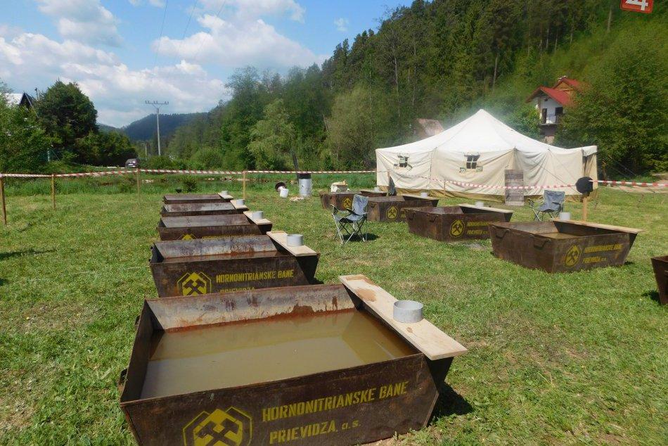 OBRAZOM: Zlatokopeckú sezónu odštartovali neďaleko Spišskej