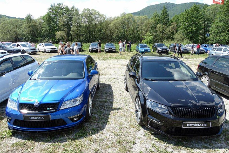 Obrazom: Sobota v Rožňave patrila Škodovkám ( Škoda Fans Slovensko)