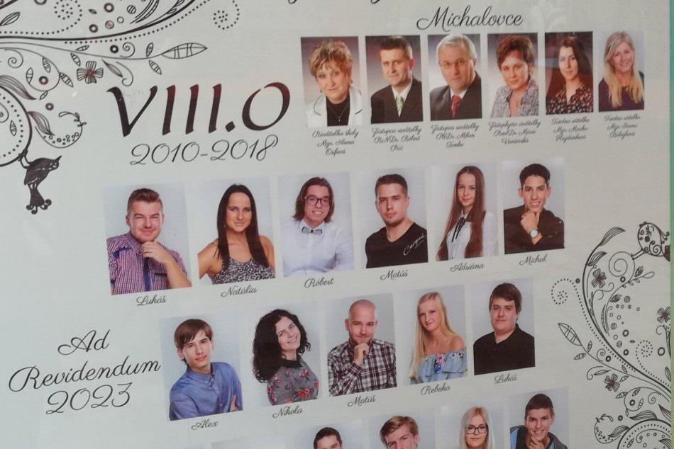 Zachytené na FOTKÁCH: V Michalovciach už pútajú pozornosť maturitné tablá