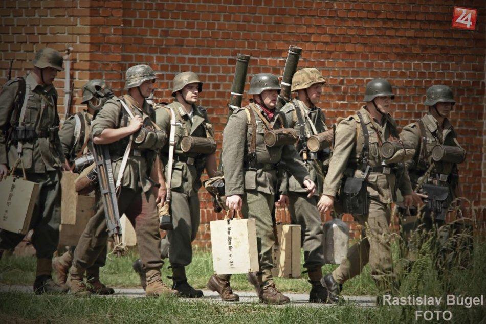 Ukážky historických bojov z 2. svetovej vojny