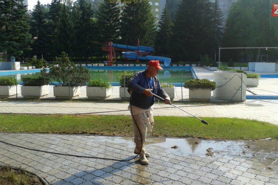Kúpalisko v Považskej Bystrici pred sezónou: Takto aktuálne vyzerá