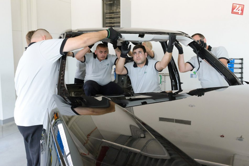Automobilka Jaguar Land Rover v Nitre