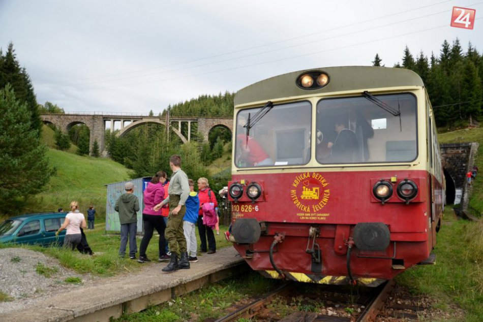 Detská železnička v Košiciach
