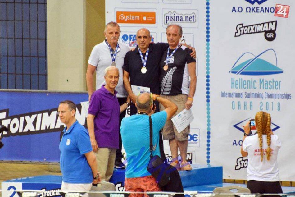 Master plavci to rozbalili v Grécku: Pozrite si to na fotkách