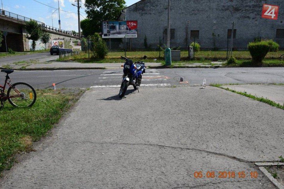 Nehoda motocyklistu